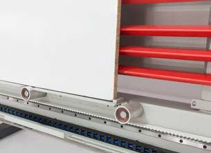 WINTER pionowa piła panelowa CHALLENGE DIGIT - CSA (CLAMPING SYSTEM + Automatic)