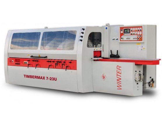 WINTER strugarka czterostronna TIMBERMAX 7-23 U (wrzeciono uniwersalne)