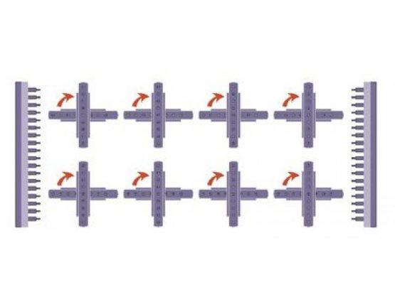 WINTER wiertarko-kołczarka wielowrzecionowa BORINGMAX 6 XL